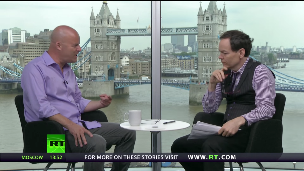 Ronnie on The Keiser Report