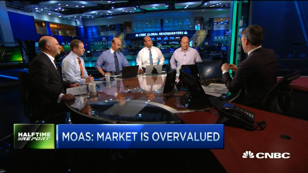 Ronnie Moas appereance on CNBC's Halftime Report